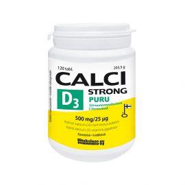 Calci Strong +D3 Puru 120 tabl